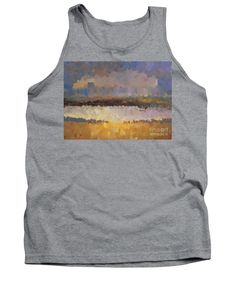Tank Top - Abstract Landscape 1524