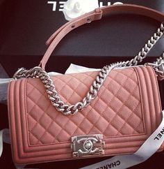 Chanel. Oooooh, now there s one that belongs in my closet  ) Chanel Boy 9711954b33c