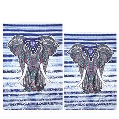 Indian Style Elephant Tapestry Home Decor Totem