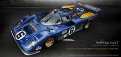 Ferrari 512M of Mark Donohue and David Hobbs on Rodeo Drive by Auto-Focused  on 500px