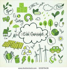 Find Ecology Themed Doodle stock images in HD and millions of other royalty-free stock photos, illustrations and vectors in the Shutterstock collection. Doodle Drawings, Doodle Art, Doodle Frames, Logo Simple, Ecology Design, Save Environment, Earth Day, Map Earth, Earth Logo