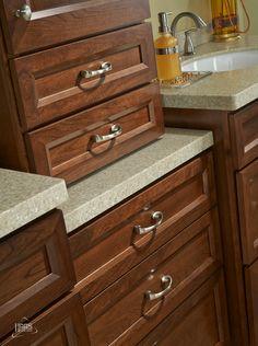 Haas Cabinet, Door Style: Soho Shown In Bourbon Finish