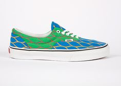 VANS Era sneakers. Special edition in KENZO prints and colors. Available this Summer 2012.