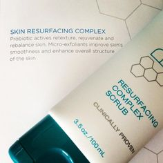 Probiotix Resurfacing Complex Scrub will help your skin glow and stop age in it's tracks!