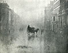 """"""" Fine day in London """", 1896 by Hector Colard"""