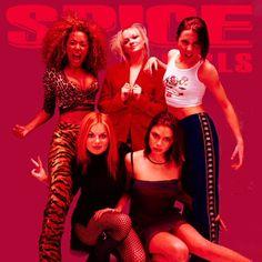 oh i'll tell ya what i want, what i really reallyy want.. SPICE GIRLS