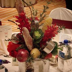 #c2mdesigns #floral #floraldesign #centerpiece #foodie #stockpot #kitchen #baguette #bread #orchids #mokara #kale #veggies #rosemary #herbs #utensils #originaldesign #unique #creative #event #corporateevents #celebritychef #gala #designsthatrock Designer: #christinemccaffery #rhodeisland #boston #omniprovidence