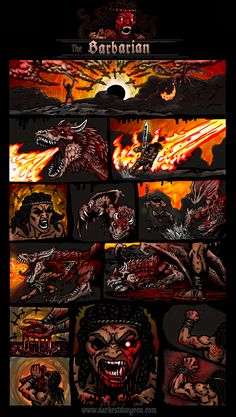 The Barbarian is heavy brawler typethere are two ways to play the barbarian either as a meat shield for your party or a heavy hitting glass cannon Dark Fantasy, Fantasy Art, Apocalypse Character, Dnd Stories, Medieval, Darkest Dungeon, Creature Concept Art, Knight Armor, Monster Art