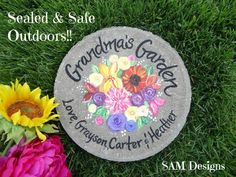 GRANDMA GIFT, Mother's Day Gift, Wildflowers, Gift for Mom, Mothers Day Gift Ideas, Grandma Gift Ideas, Grandmothers Day, Nana Gift, Flowers by samdesigns22 on Etsy