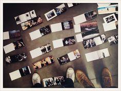 "Working the layout. Milano 16 October 2012.   ""Vasco Rossi. Tabularasa""  di Efrem Raimondi e Toni Thorimbert"