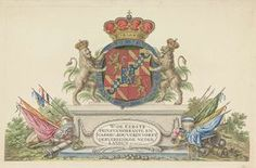 Wapen van Willem Frederik, prins van Oranje als souverein vorst, 1814, anoniem, 1814