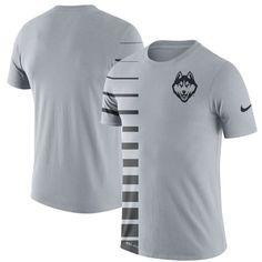 657d9e72e56 UConn Huskies Nike 2017 Phil Knight Invitational Disrupt Dri-FIT T-Shirt –  Gray
