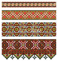 Ukrainian embroidery - this is what I grew up with - embroidered pillowcases, traditional shirt for social events, table runners, tablecloths etc - I never appreciated what a rich tapestry surrounded me as a child
