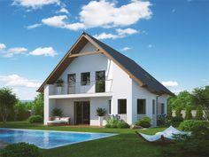Pavla 9 | Ekonomické stavby Home Fashion, House Plans, Cabin, Interior Designing, How To Plan, Mansions, House Styles, Tuna, Home Decor