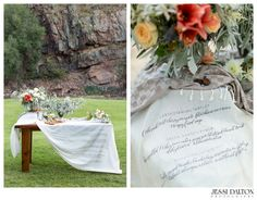Grecian Inspired River Elopement in Lyons, Colorado | Florals by @EmmaLeaFloral | Coordinator @Purple Summer Events | Catering by Elevated Catering | Farmhouse Table by Harvest Table Company | Handlettering by Taryn Eklund Ink | www.jessidalton.com