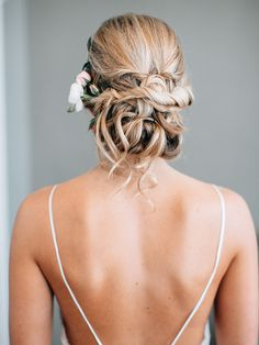 8 Updos That Have That Messy Yet Polished Look You Want | TheKnot.com