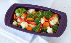 Epicure's Steamed Mixed Vegetables — A hat-trick for heart health! Low in sodium, low in fat and high in fibre. Frozen Vegetables, Mixed Vegetables, Epicure Recipes, Cooking Recipes, Side Recipes, Vegetable Recipes, Steamed Veggies Recipe, Epicure Steamer, Gluten Free Recipes
