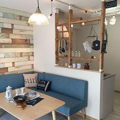 Kitchen Room Design, Home Room Design, Dining Room Design, Home Decor Kitchen, Home Interior Design, Dining Nook, Home Kitchens, House Design, Small Apartment Interior