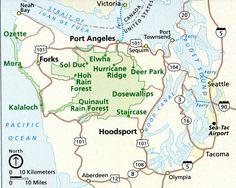 Olympic Peninsula - Port Angeles, Forks, & La Push :-)