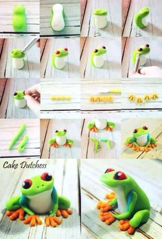 Frog How to make a cute fimo frog
