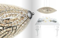VG Arabesque - Pendant lighting - Watch VG LIGHTING catalogue on Issuu ► http://issuu.com/vgnewtrend/docs/vg_lighting_2014 - #luxury #lighting #furniture #furnishing #madeinitaly #home #decor #homedecor #interior #decor #interior #design #interiordesign #chandeliers #pendantlighting