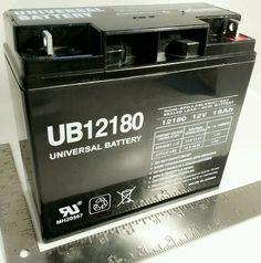 Universal Battery UB12180 12 V 18000 mAh Rechargeable Batteries #eBay #Auction #Sale #Wholesale #Products