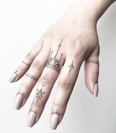 Finger tattoos from Joanna. Done at Chronic Ink Tattoo - Toronto, Canada . - Finger tattoos from Joanna. Done at Chronic Ink Tattoo – Toronto, Canada … – Finger tattoos b - Love Finger Tattoo, Finger Tattoo Designs, Finger Tats, Henna Tattoo Designs, Henna Finger Tattoo, Henna Hand Tattoos, Tiny Finger Tattoos, Finger Piercing, Thumb Tattoos