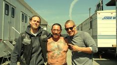 ~ Danny Trejo - #TBT 2012 with the boys on set of Sons of Anarchy ! ~