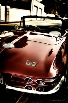 Corvette Sting Ray | Photo : Wolfgang Simm