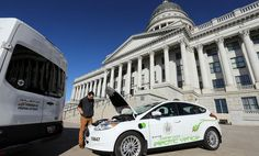 Federal transportation officials announced Thursday that the 402-mile I-15 corridor through Utah is one of 55 routes in 35 states that will serve as the foundation for the nation's alternative fuels and electric charging network. #CareAboutAir #AlternativeFuels #ElectricVehicles