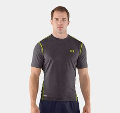 Men's HeatGear® Sonic Fitted Shortsleeve | 1236251 | Under Armour CA size:m