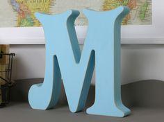 """Açık Mavi """"M"""" Harfi En: 25cm Boy: 25cm Siparişleriniz için mesaj atmanız ya da sayfamızı ziyaret etmeniz yeterli."""