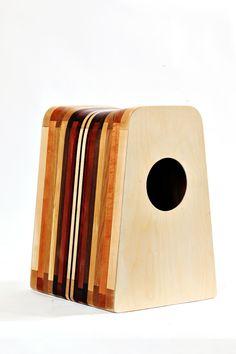 Stool & Cajon ~~ :)  Various Hardwood, Instrumental Furniture