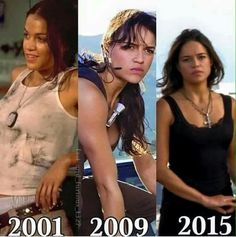 Michelle Rodriguez just gets better with age the older she gets the finer she gets