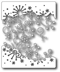 Swirling Snowflakes - Memory Box P/O. [98653 MB] - $27.99 : Crop Stop!, Your one-stop cropping solution