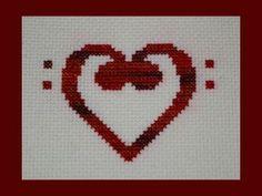 Bass Clef Heart Pattern PDF, Valentine Music Pattern
