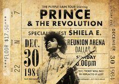 Impresión original Prince: En vivo en la gira Purple Rain 1984. Se trata de un original diseño inspirado en las clásicas actuaciones de artistas legendarios. Este llamativo cartel estilo vintage grabado sería un gran regalo para cualquier fan del príncipe. Celebra las actuaciones de 1984 legendario de cantantes en el Tour de lluvia púrpura. ESTAS IMPRESIONES PUEDEN SER PERSONALIZADAS A OTRA FECHA, ÉNTREME EN CONTACTO CON PARA MÁS DETALLES. Todas nuestras impresiones se producen los más al...