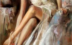 Arte - Il pittore Ron Di Scenza Ron Di Scenza è nato nell'Ohio (USA) nel 1954. I suoi genitori erano immigrati italiani. Di Scenza si è aggiudicata una borsa di studio e ha conseguito la laurea in Belle Arti, presso la School of Vi #molise #ohio #pittura #rondiscenza