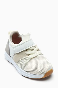 Buy Ecru Fashion Runner Trainers (Younger Boys) from the Next UK online shop 05155bd29898
