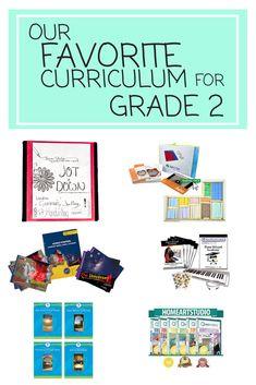 Our Favorite Curriculum for Grade 2   homeschool curriculum for grade 2   grade…