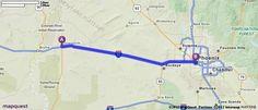 Driving Directions from Quartzsite, Arizona to Phoenix, Arizona | MapQuest