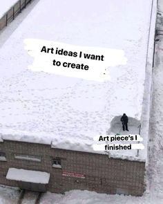 It be like that. Creative block and being inspired for many projects but never finishing it is a real thing! www.vivefi.com
