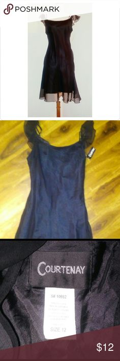 NWT black dress Very nice 100% polyester dress with built in slip Size 12  ? BUNDLE AND SAVE?  $1 off each? item purchased and ???????? ?15%off bundle?  Check out all my other items as I add new items daily. I am on a few sites so my items sell fast, get it while you can. I except most reasonable offers! Dresses