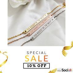 Gold Bar Necklace, Silver Earrings, Arrow Necklace, Nameplate Necklace, Silver Ring, Silver Jewelry Cleaner, Name Bracelet, Personalized Bracelets, Boho Rings