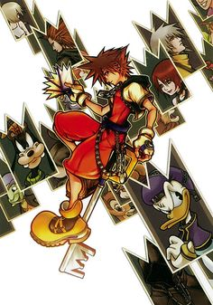 Kingdom Hearts: Chain of Memories :D)