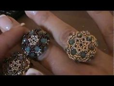 "tutorial anello ""Charlotte"" ( tutorial ring ""charlotte"") - YouTube"