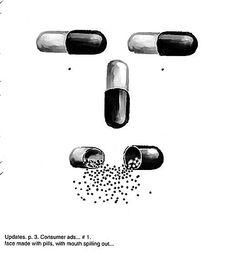 Sketch for illustration for FDA Consumer Magazine.