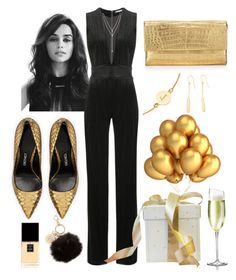"""""""Jumpsuit"""" by sherinaaaa ❤ liked on Polyvore featuring Tom Ford, Astley Clarke, Nancy Gonzalez, Chanel, INC International Concepts, Balmain and Vince Camuto"""