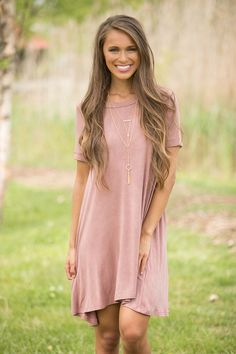 c4180f1a1dc Echoes In Time Dress Dark Mauve - The Pink Lily Mauve Dress