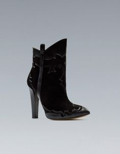 Shoegasm: Zara's High Heel Cowboy Boot Has Us All Riled Up (Say Howdy To These Stunners Inside! $129